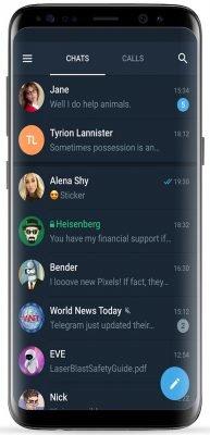 دانلود پیام رسان تلگرام ایکس Telegram X v0.20.5.845