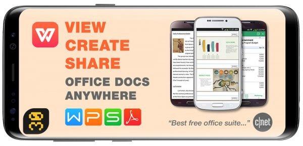 دانلود WPS Office - Word, Docs, PDF, Note, Slide & Sheet v12.0.3 - آفیس رایگان و عالی اندروید
