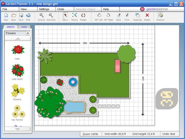 Artifact interactive garden planner 3 6 6 green space for Room planner software free download