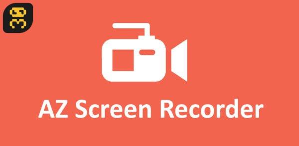 دانلود AZ Screen Recorder v5.2.3 - فیلمبرداری از صفحه اندروید