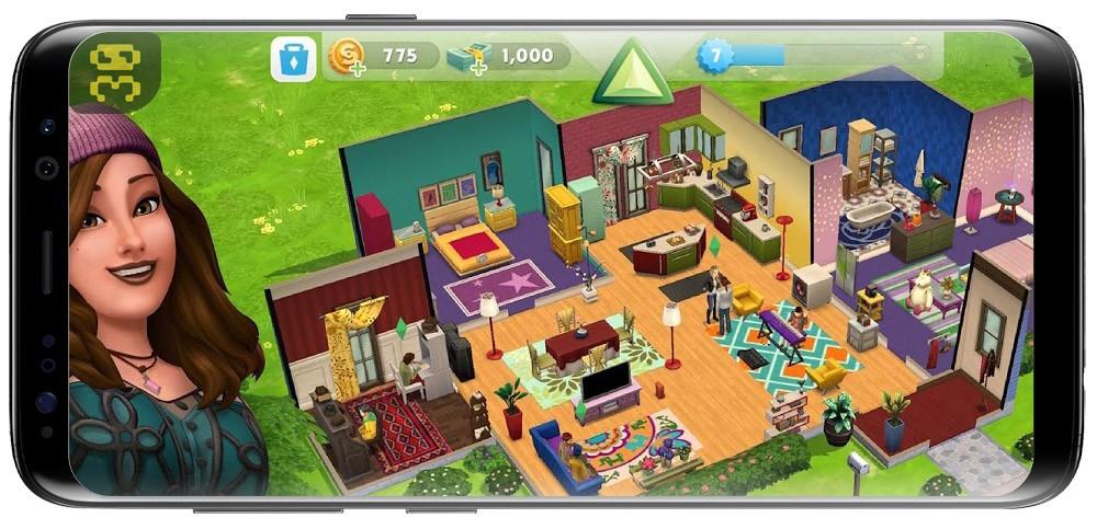 دانلود The Sims Mobile v18.0.0.82502 - بازی سیمز اندروید