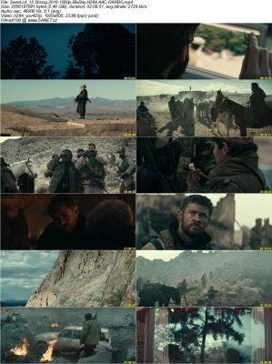 دانلود فیلم 12 Strong با لینک مستقیم + زیرنویس فارسی