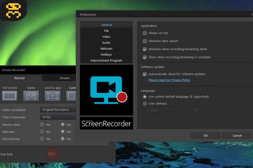 CyberLink Screen Recorder Deluxe 4.2.3.8860 - Desktop Imaging