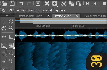 MAGIX SpectraLayers 5.0.134 - Audio Spreadsheet Software