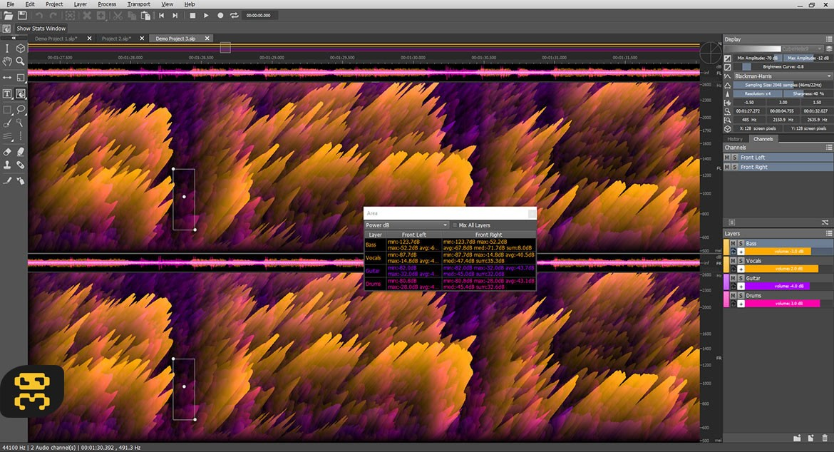 MAGIX SpectraLayers 5.0.134 - Audio Spreadsheet Software