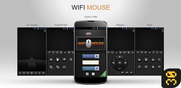 دانلود WiFi Mouse Pro v4.2.4 - تبدیل گوشی اندروید به ماوس کامپیوتر