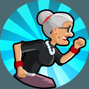 دانلود Angry Gran Run: Running Game v1.71.4 بازی مادربزرگ عصبانی دونده اندروید