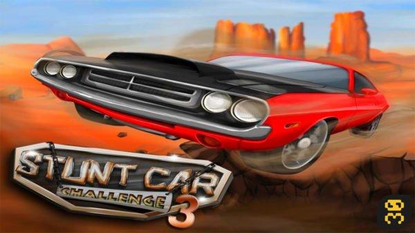 Stunt Car Challenge 3 v2.15 - بازی چالش ماشین قدیمی اندروید
