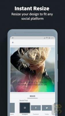 دانلود Adobe Spark Post v4.3.4 - ساخت و ویرایش عکس شبکه های اجتماعی اندروید