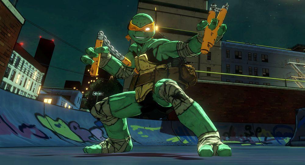 Hacked Version Of Teenage Mutant Ninja Turtles Mutants In Manhattan For PS4