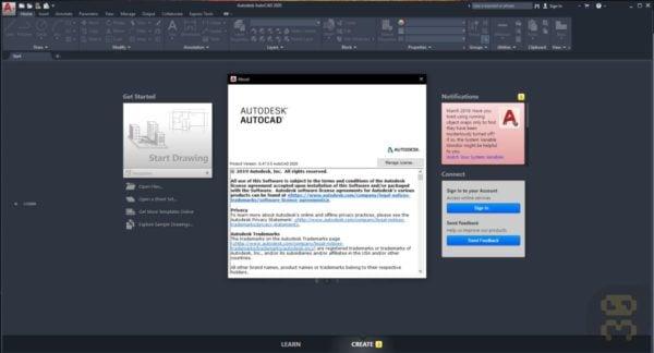 دانلود اتوکد Autodesk AutoCAD 2020.1.3 + LT + کرک