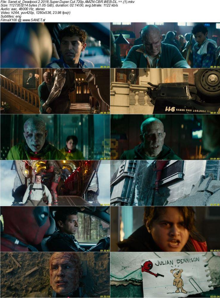 Deadpool 2 Super Duper Cut Subtitles