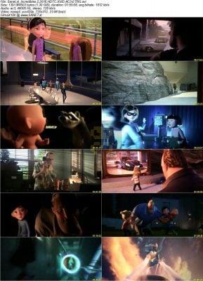 دانلود انیمیشن Incredibles 2 شگفت انگیزان 2 + زیرنویس فارسی