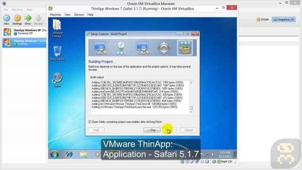 دانلود VMware Thinapp Enterprise 5.2.7 Build 15851843 - ساخت نرم افزار قابل حمل پرتابل