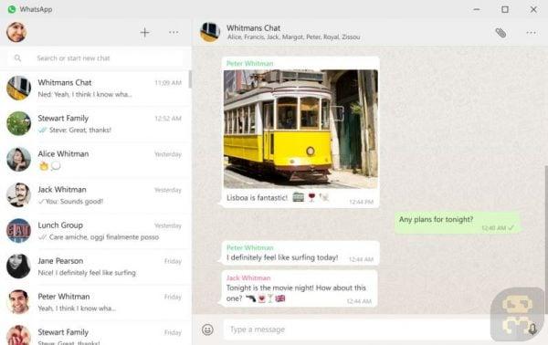 دانلود WhatsApp for Windows 0.4.315 - واتساپ برای ویندوز