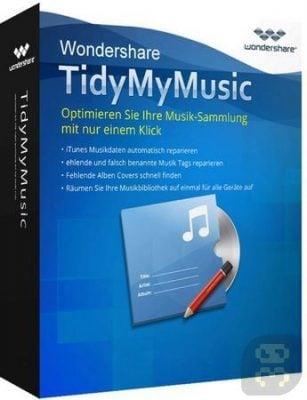 دانلود Wondershare TidyMyMusic 2.1.0.3  - مدیریت آهنگ های کامپیوتر