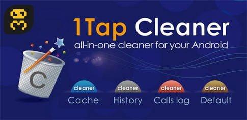 دانلود 1Tap Cleaner Pro v3.85 - پاکسازی کش برنامه های نصب شده اندروید