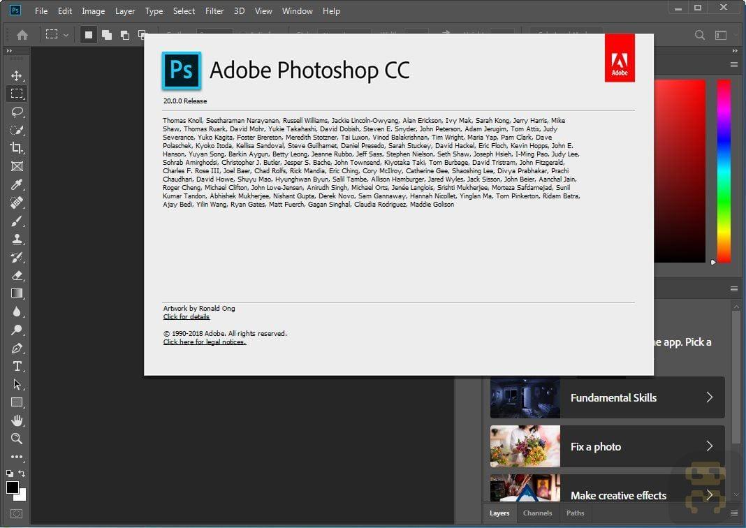adobe photoshop cc latest version crack download