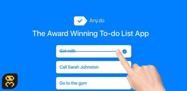 دانلود Any.do To-do list v4.15.8.11 - اپلیکیشن یادآوری کارها