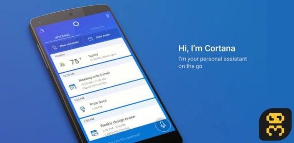 دانلود دستیار دیجیتالی کورتانا Microsoft Cortana 2.10.9.12364 اندروید