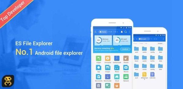 دانلود ES File Explorer File Manager v4.1.9.9.31 - بهترین فایل منیجر اندروید