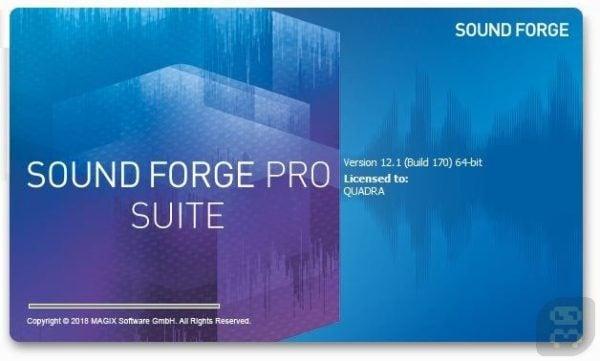 دانلود MAGIX SOUND FORGE Pro Suite v13.0.0.124 - ساخت و ویرایش فایل صوتی