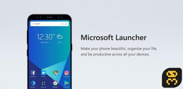 دانلود Microsoft Launcher v5.9.0.54736 - لانچر مایکروسافت اندروید