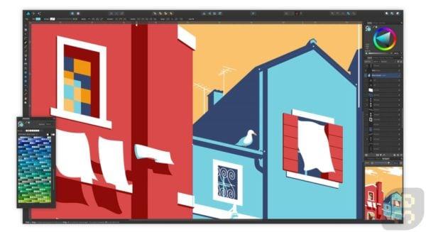 دانلود Serif Affinity Designer 1.8.4.647 - خلق تصاویر گرافیکی