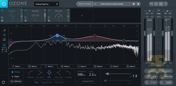 دانلود iZotope Ozone Advanced 8.02 - برنامه ویرایش و تنظیم موسیقی