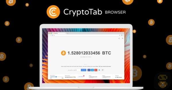 دانلود Cryptotab Browser - ماینینگ بیت کوین در مرورگر اینترنت
