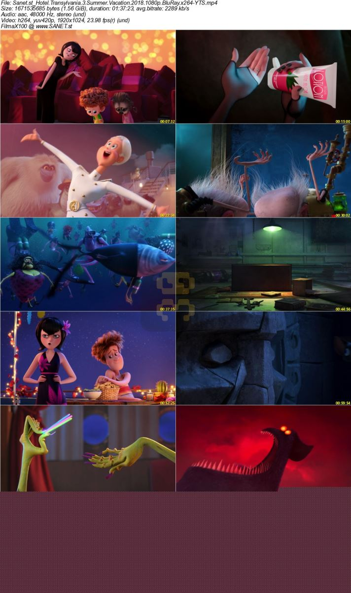 Hotel Transylvania 3 With Direct Link + Subtitle Persian