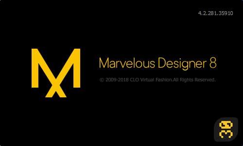 دانلود Marvelous Designer 8 Enterprise v4.2.297.40946 - طراحی لباس با کامپیوتر