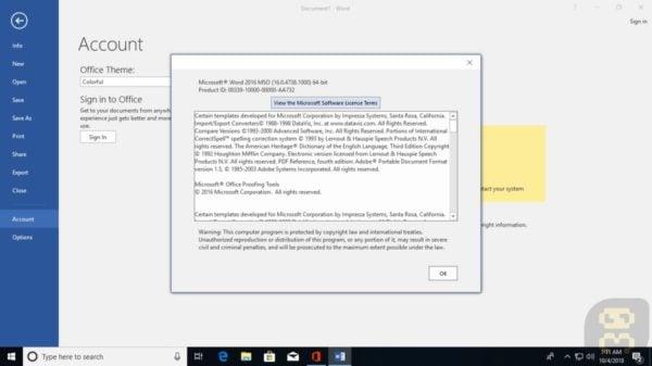 دانلود آفیس Microsoft Office 2016 Pro Plus January2019 + کرک