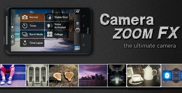 دانلود Camera ZOOM FX Premium v6.3.4 - عکسبرداری حرفه ای اندروید