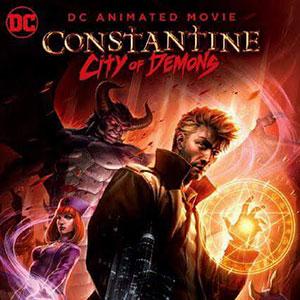 دانلود انیمیشن کنستانتین Constantine City of Demons 2018 + زیرنویس فارسی + 4K