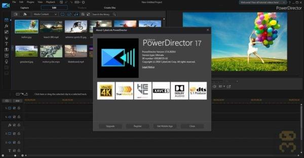 دانلود CyberLink PowerDirector Ultimate 17.0.2720.0 - تولید حرفه ای فیلم