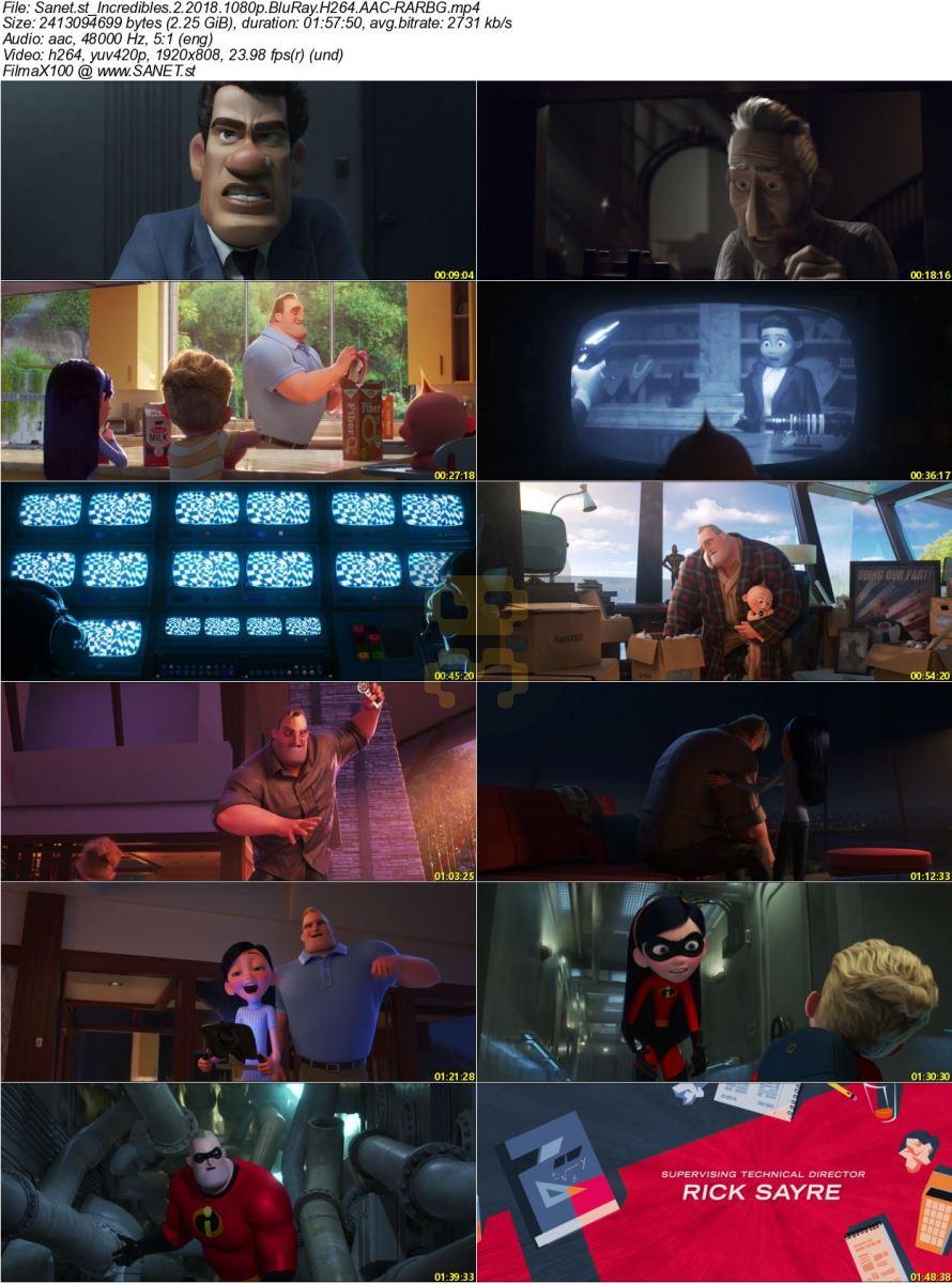Incredibles Animations 2 Wonders 2 + Subtitles Persian 2018-11-08