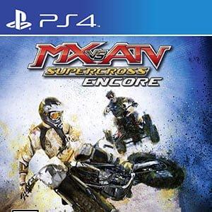 دانلود نسخه هک شده بازی MX vs. ATV Supercross Encore برای PS4