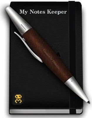 دانلود My Notes Keeper 3.9.3 Build 2218 - یادداشت برداری در ویندوز
