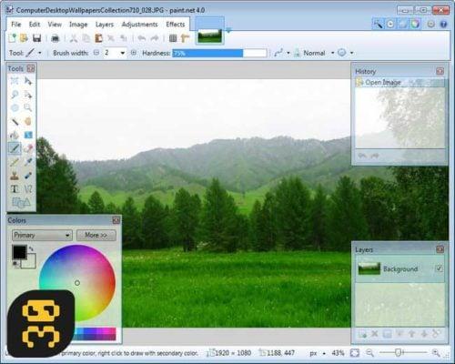 دانلود Paint.NET 4.2 - نرم افزار ساده ویرایش عکس