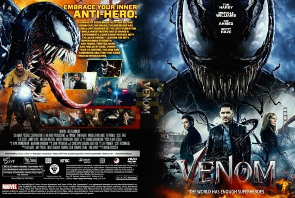دانلود رایگان فیلم Venom 2018 + زیرنویس فارسی + 4K