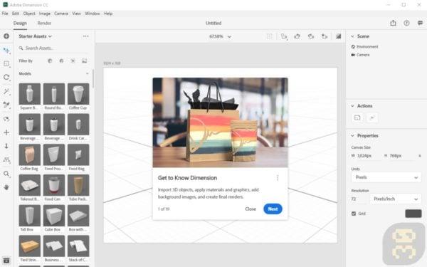 دانلود Adobe Dimension CC 2019 v2.3.0.1052 - ساخت جلوه های ویژه