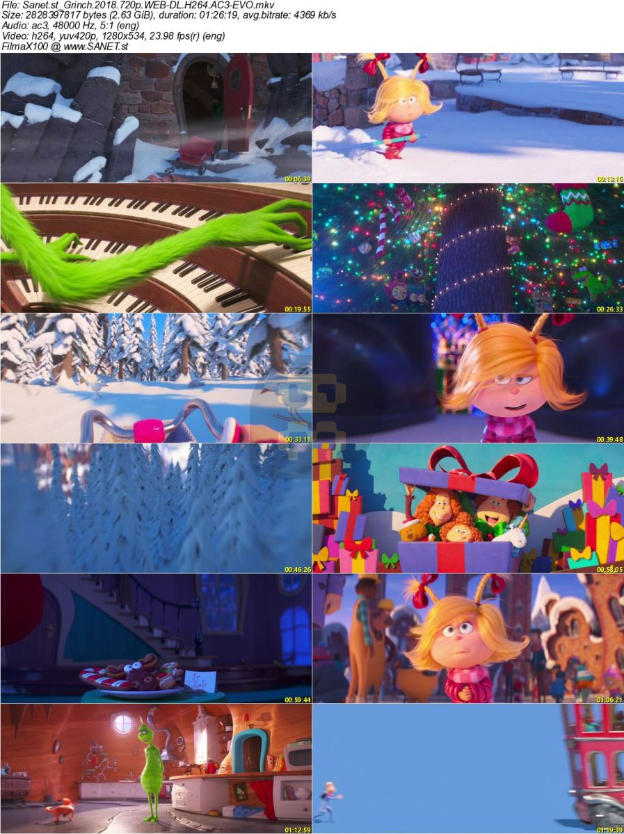The Grinch 2018 Animation With Direct Link + Subtitle Persian 2019-01-22