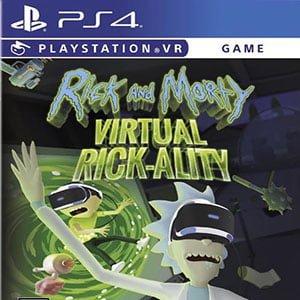 دانلود نسخه هک شده بازی Rick and Morty: Virtuall Rick-ality برای PS4