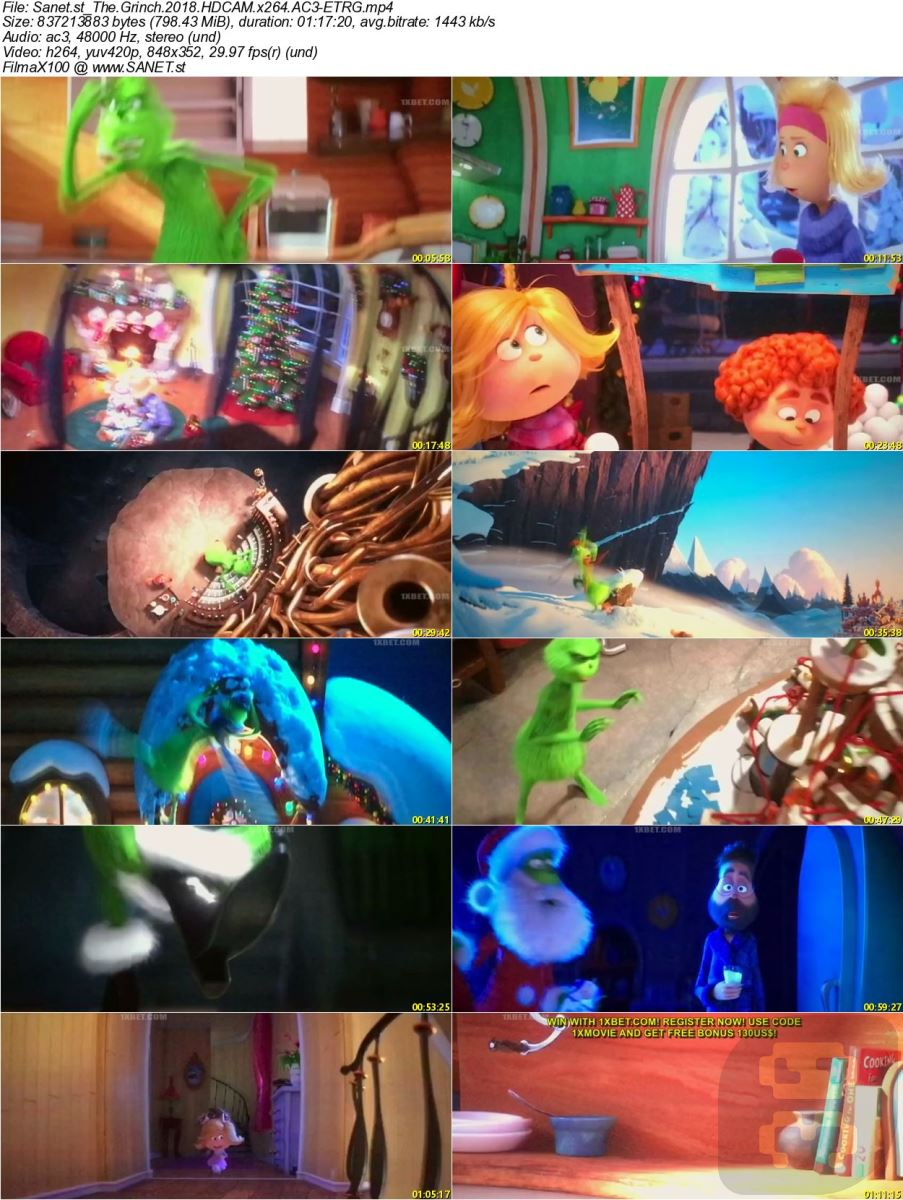 The Grinch 2018 Animation With Direct Link + Subtitle Persian