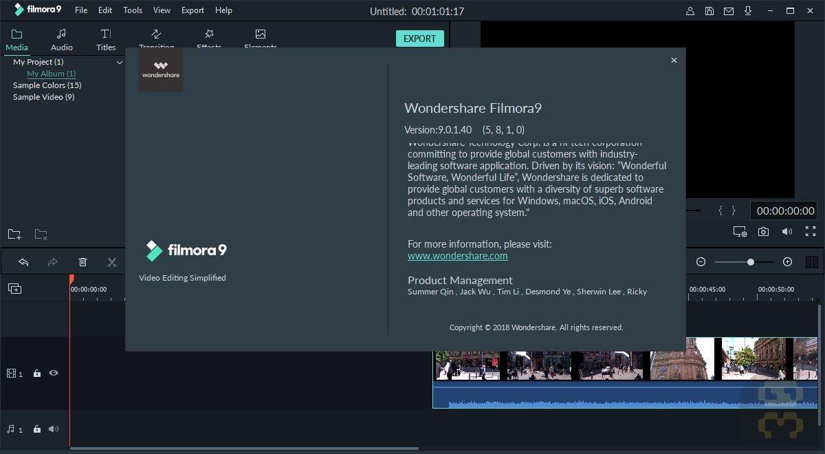 Wondershare Filmora V9.0.4.4 - Edit And Mix Movies