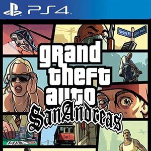 دانلود نسخه هک شده بازی GTA San Andreas برای PS4