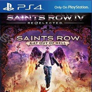 دانلود نسخه هک شده بازی Saints Row Gat out of Hell برای PS4