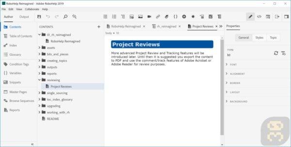 دانلود Adobe RoboHelp 2019.0.11 - طراحی برنامه های راهنما