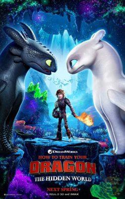 دانلود انیمیشن How to Train Your Dragon 3 2019 + زیرنویس فارسی + 4K